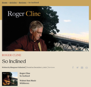 Heading for Bluegrass Unlimited's review
